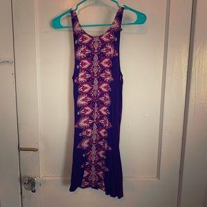 Cute maroon color summer dress gently worn